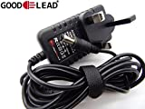GOOD LEAD Crane Sport Cross 7 Ergometer Replacement Power Supply Adapter - UK SELLER
