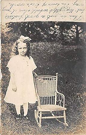 Tremendous People And Children Photographed On Postcard Old Vintage Spiritservingveterans Wood Chair Design Ideas Spiritservingveteransorg