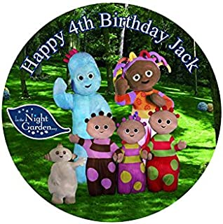 In the Night Garden Personalized Cake Topper Icing Sugar Paper 7.5  m3  sc 1 st  Amazon UK & Masha and the Bear Personalized Cake Topper Icing Sugar Paper 7.5 ...