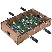 Mesa de futbolín, mesa portátil, mini mesa de fútbol /juego de fútbol con dos bolas y marcador de anotaciones para adultos y niños de Hey. ¡Jugar!