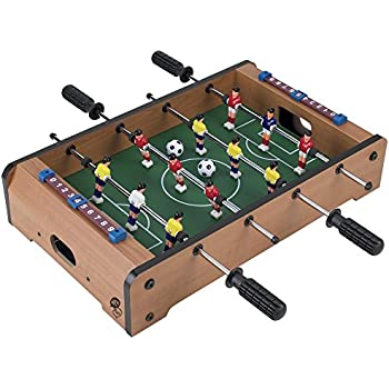 Perfect Tabletop Foosball Table  Portable Mini Table Football / Soccer Game Set  With Two Balls And