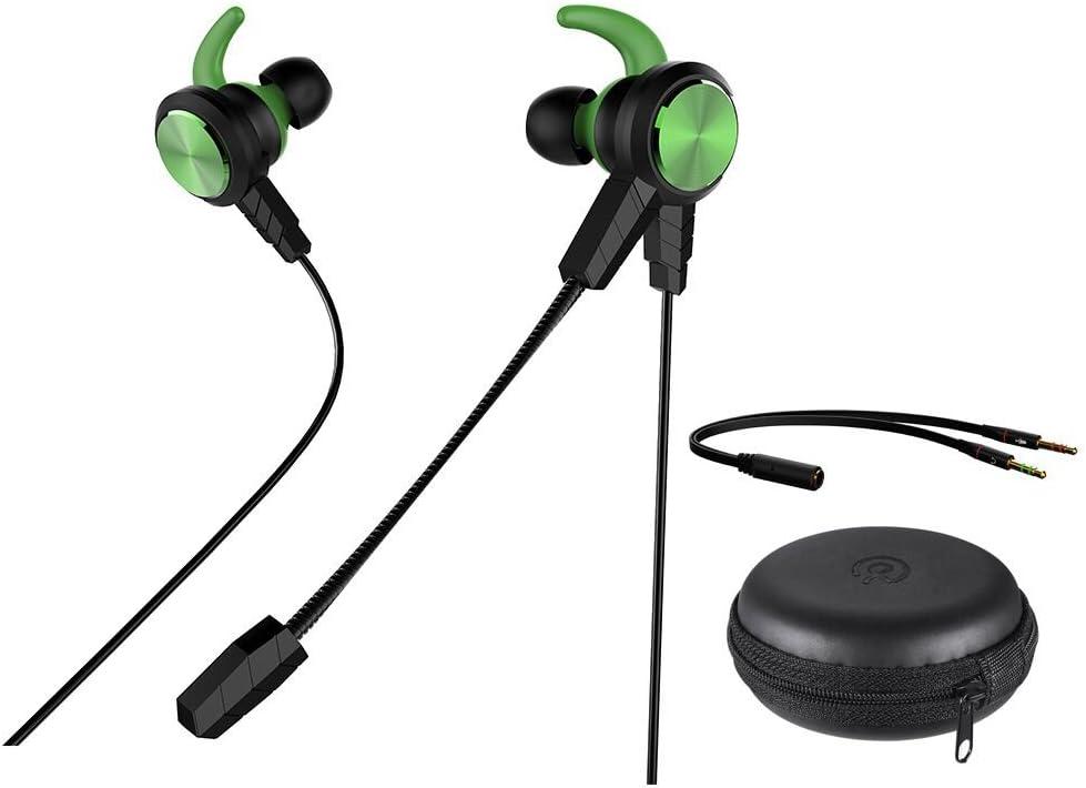 Wired Gaming in Ear, qltech in Ear Gaming Kopfhörer Stereo