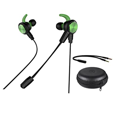 Wired Gaming Earbuds, QLtech In Ear Gaming Headphones Stereo
