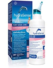 hydraSense Ultra-Gentle Mist Nasal Spray, Baby Nasal Care, 100% Natural Sourced Seawater, Preservative-Free, 100 mL