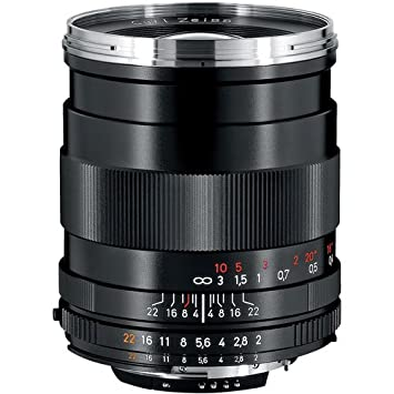 Zeiss 35mm f/2 0 Distagon T ZF 2 Series Manual Focus Lens for Nikon F  Bayonet SLR System