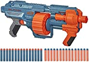 NERF Elite 2.0 Shockwave RD-15 Blaster, 30 Darts, 15-Dart Rotating Drum, Pump-Action, Built-in Customizing Cap