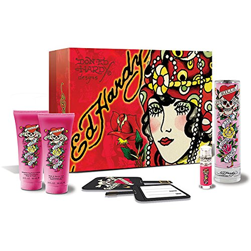 Ed Hardy Deluxe Collection Fragrance Gift Set For Women 4 Pc: The Best Ed Hardy Perfume Collection Of 2019