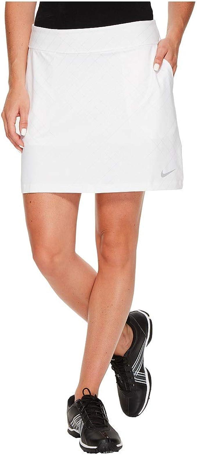 Nike - Falda de Golf de Punto seco de 16.5 Pulgadas para Mujer ...