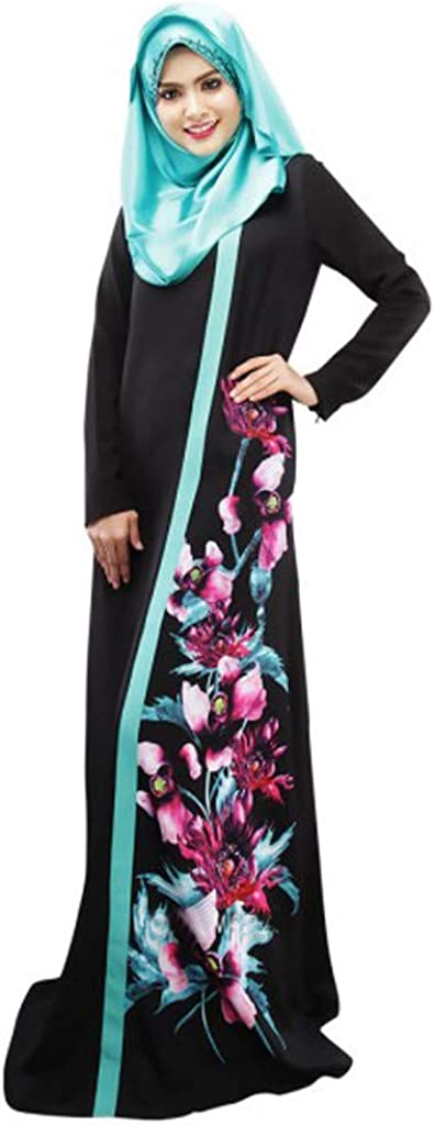 iHAZA Hijab Femme Musulmane Dubai Long Hijabs Robe Foulard /Écharpes de Couleur Unie Arabie Islamique Ladies Wrap Hijab Turban Long Corps de ch/âles de Hijab Musulmans Robe de pri/ère