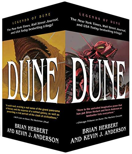 Legends of Dune Trilogy [Box Set] - (The Butlerian Jihad/The Machine Crusade/The Battle of Corrin) - Anderson Collections Set