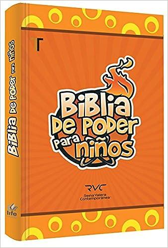 Biblia De Poder Para Niños - Tapa Dura reina Valera Contemporanea Hardcover  – 2015 b326d3e98968a