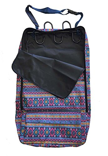Deluxe Bridle Halter Tote Bag with Removable Tack Rack Aztec Print (Bridle Halter Bag)
