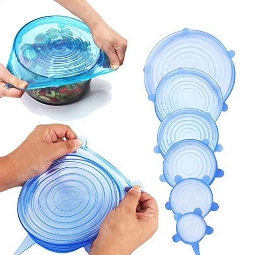 silicone stretch lids
