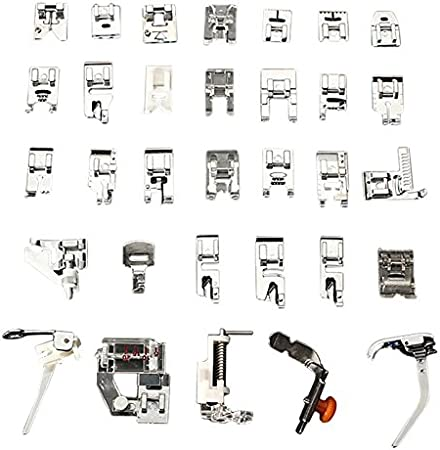 32pcs Mini máquina de coser doméstica trenzado puntada ciega ...