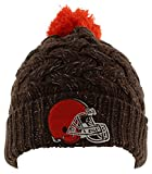Cleveland Browns 47 Brand Womens NFL Fiona Cuff Knit Beanie