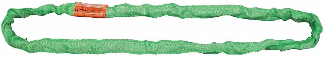 Endless Color Code: Green Polyester Type 5 Round Sling 5 ft 7//8 Diameter