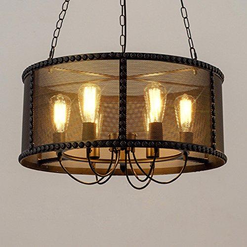 Ruanpu Industrial 20'' Wide 6 Lights Pendant Retro