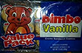 2 trays of Bimbo Cookies Vanilla flavor. 10 pack of 6 cookies each. Made in Puerto Rico