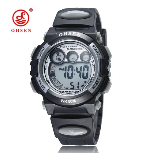 73723638323 Buy New Arrival OHSEN Brand Fashion Digital Watch Kids Children Waterproof  Sports Watch LED Army Electronic Wristwatch Relogio - Black Online at Low  Prices ...