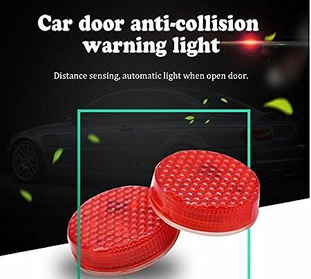 2 PCS Auto Tür Sicherheit Reflektor Kantenschutz Warnung LED