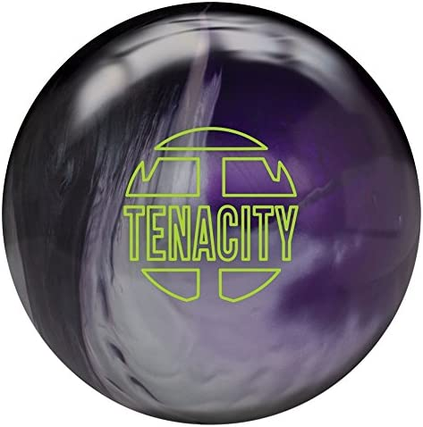 Brunswick Tenacity Bowling Ball- Black Silver Purple Pearl