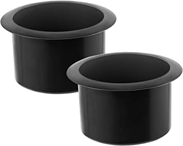 OUNONA 2pcs Recliner-Handles Cup Holder Replacement Insert for Sofa Boat Rv Couch Car Truck Poker Table(11 x 11 x 7cm)
