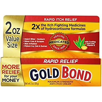 Gold Bond Rapid Relief Anti Itch Cream, 2 oz