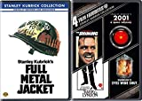 Stanley Kubrick Collection 5-Movie Bundle - 2001: A Space Odyssey, The Shining, Barry Lyndon, Eyes Wide Shut & Full Metal Jackets 5-Disc Film Set