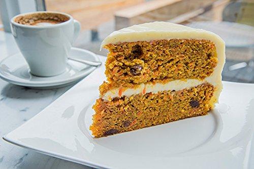 CARROT CAKE DOUBLE LAYER PER SLICE BAKERY FRESH EACH (1) -