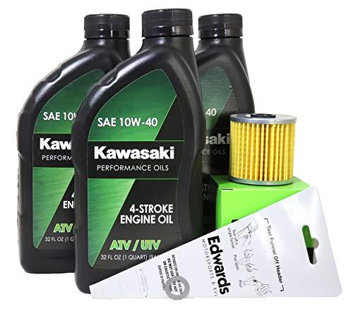 1999 Kawasaki BAYOU 220 Oil Change Kit ()