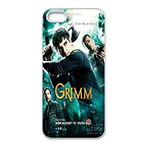Qxhu Grimm patterns Hard Plastic Cover Case for Iphone5,5S