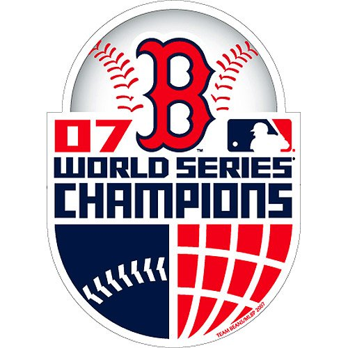 Forever Collectibles Boston Red Sox 2007 World Series Champions Magnet