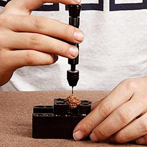 NOPTEG Precision Pin Vise Model Mini Hand Drill Set