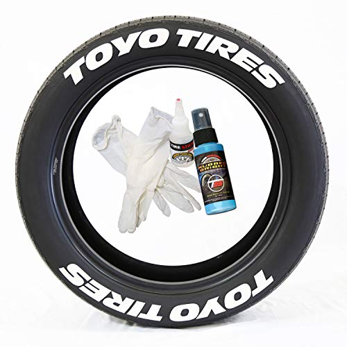 toyo tires tire lettering add on car