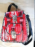 Coca cola recycled soda can handmade backpack/handbag
