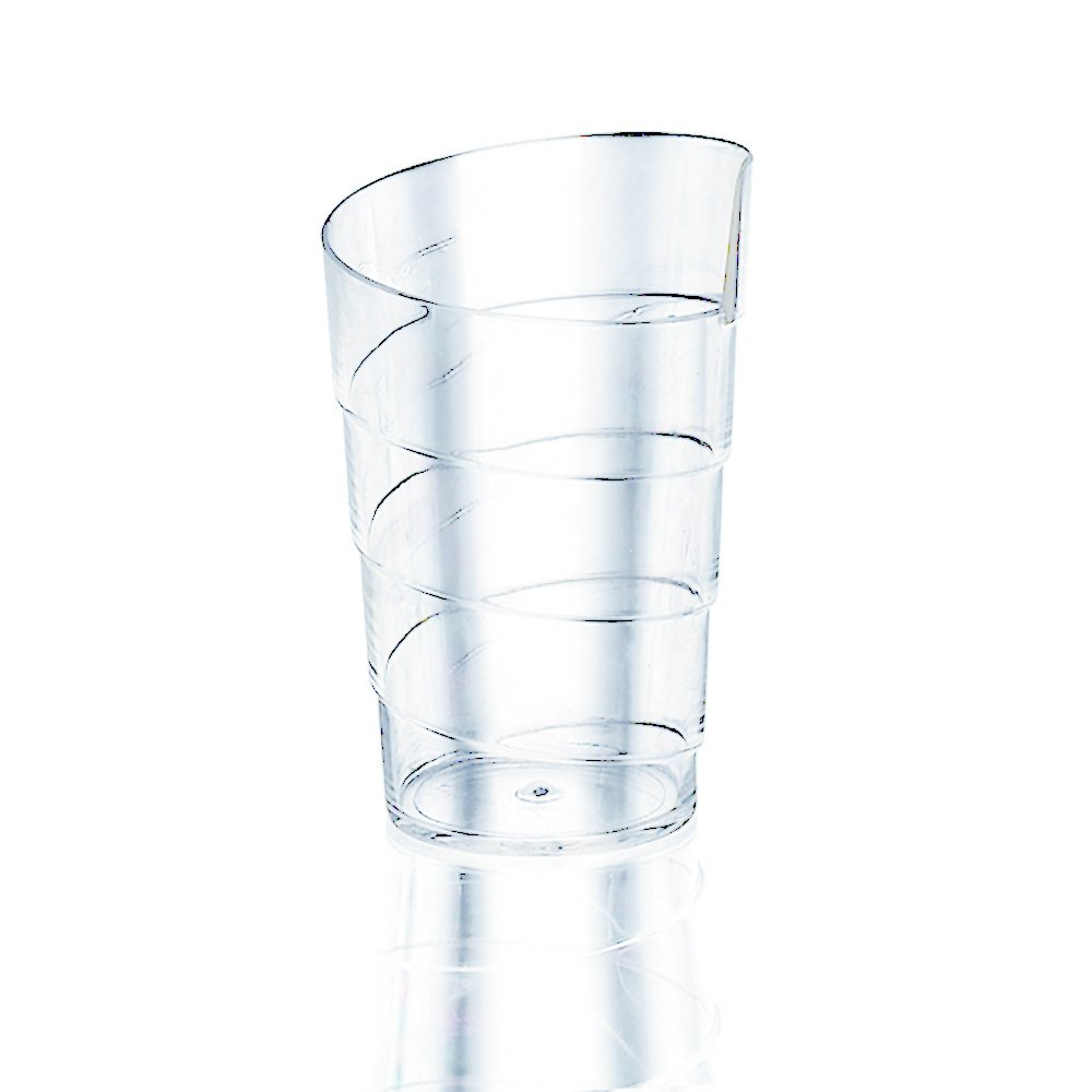OnDisplay DDC-SPYRO100 100 Count Spyro Disposable Dessert Cups, Clear
