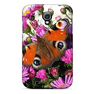 LauraAdamicska Samsung Galaxy S4 Shock-Absorbing Hard Cell-phone Case Customized Fashion Butterfly Image [vqn19620jfFV]