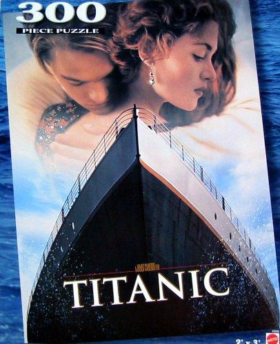 Movie Poster Titanic 300 Piece Jigsaw Puzzle 2' X 3'