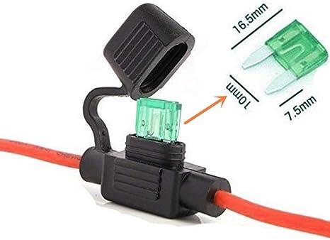ATO Sicherungshalter mit Kabelanschluss 1,5 mm² Sicherungsträger TOP