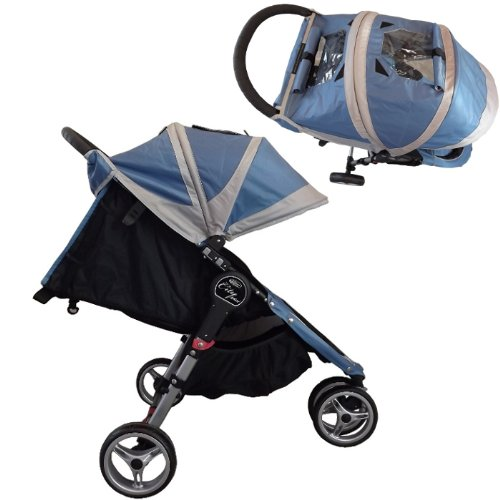 Baby Jogger 2012 City Mini Single Stroller Crimson Gray