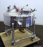 DCI 400 Liter (105.66 Gallon) Pressure Tank. Stainless