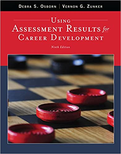 Using Assessment Results for Career Development, 9th Edition - Original PDF