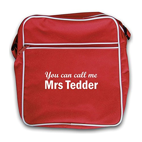 Tedder Retro Mrs Red Flight Bag red 7pnqC