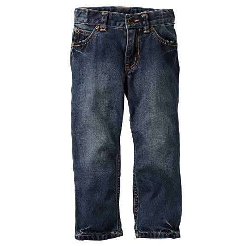 Carter's Baby Boys Classic Straight Fit Jeans - Denim