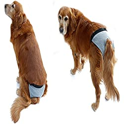 S-Lifeeling Comfortable Female Dog Diapers Pet Puppy Protective Pet Pants Absolutely Easy to Put On/Off