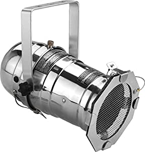 Img Stage Line 110 mm carcasa para proyector PAR30 Reflector - aluminio pulido