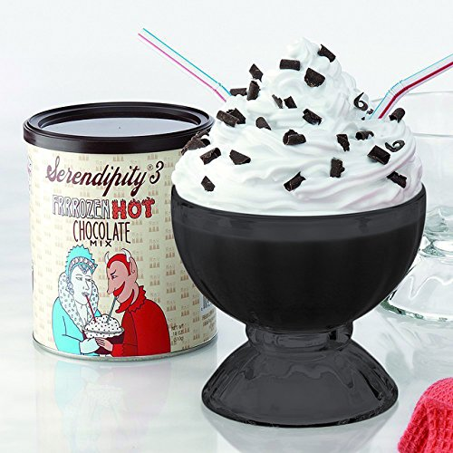 Full Black Color Serendipity Frozen Hot Chocolate Party Gift Box (as seen on