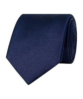 Van Heusen Men's Classic Silk Tie, Navy,