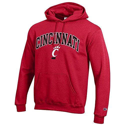 Reds Key Cincinnati (Elite Fan Shop Cincinnati Bearcats Hooded Sweatshirt Varsity Red - XXL)