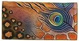 Anuschka Premium Peacock Safari Checkbook Cover, NWT